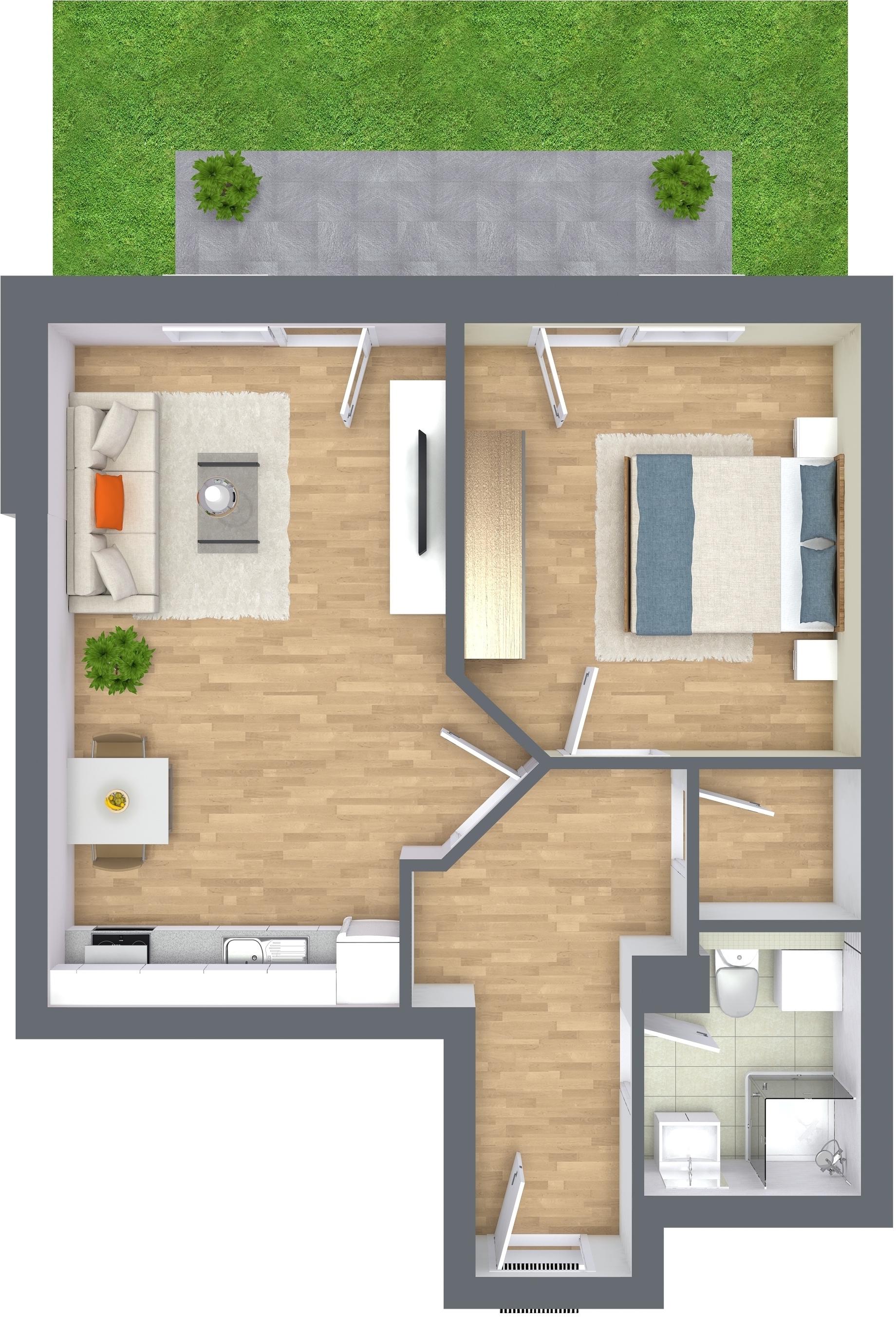 das raumwunder a2 oliver klenz der immobilienprofi. Black Bedroom Furniture Sets. Home Design Ideas