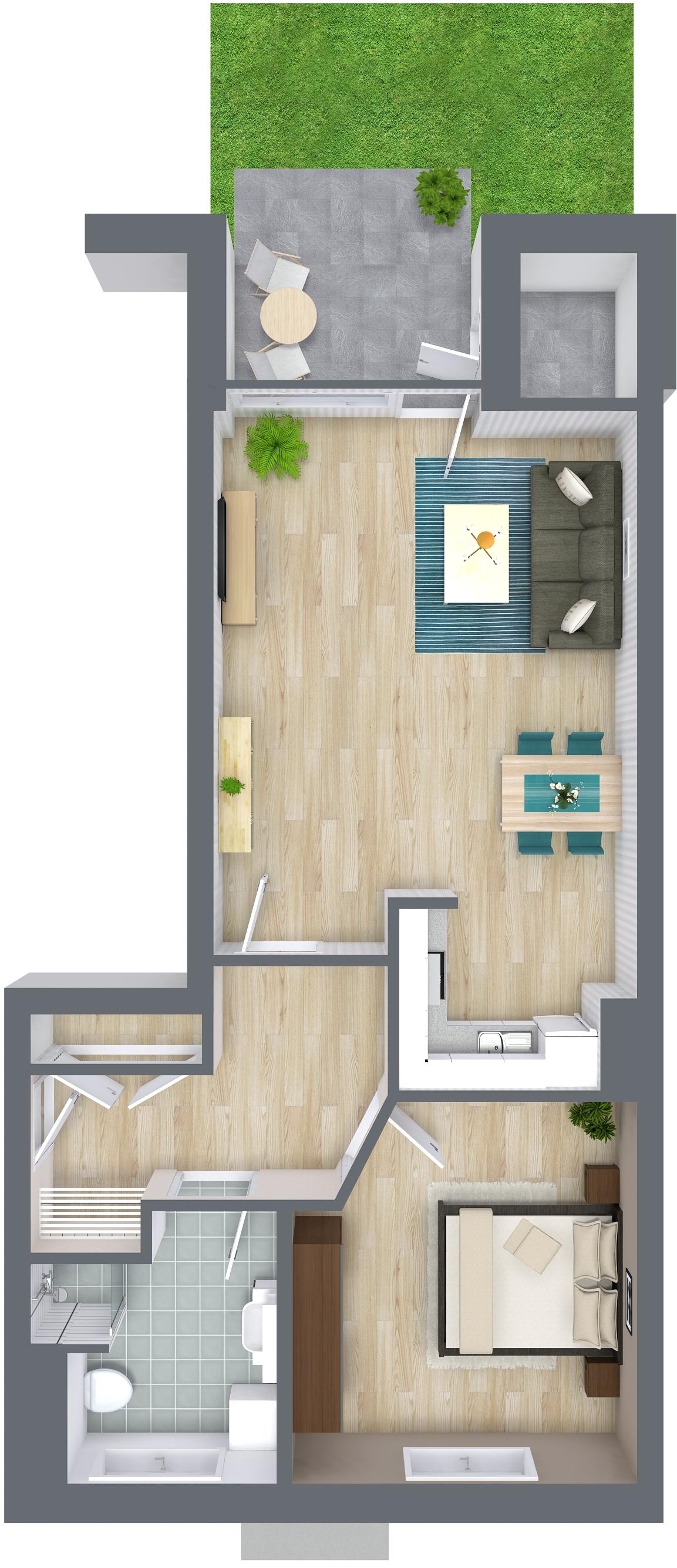 die 2 zimmer alternative a3 oliver klenz der immobilienprofi. Black Bedroom Furniture Sets. Home Design Ideas