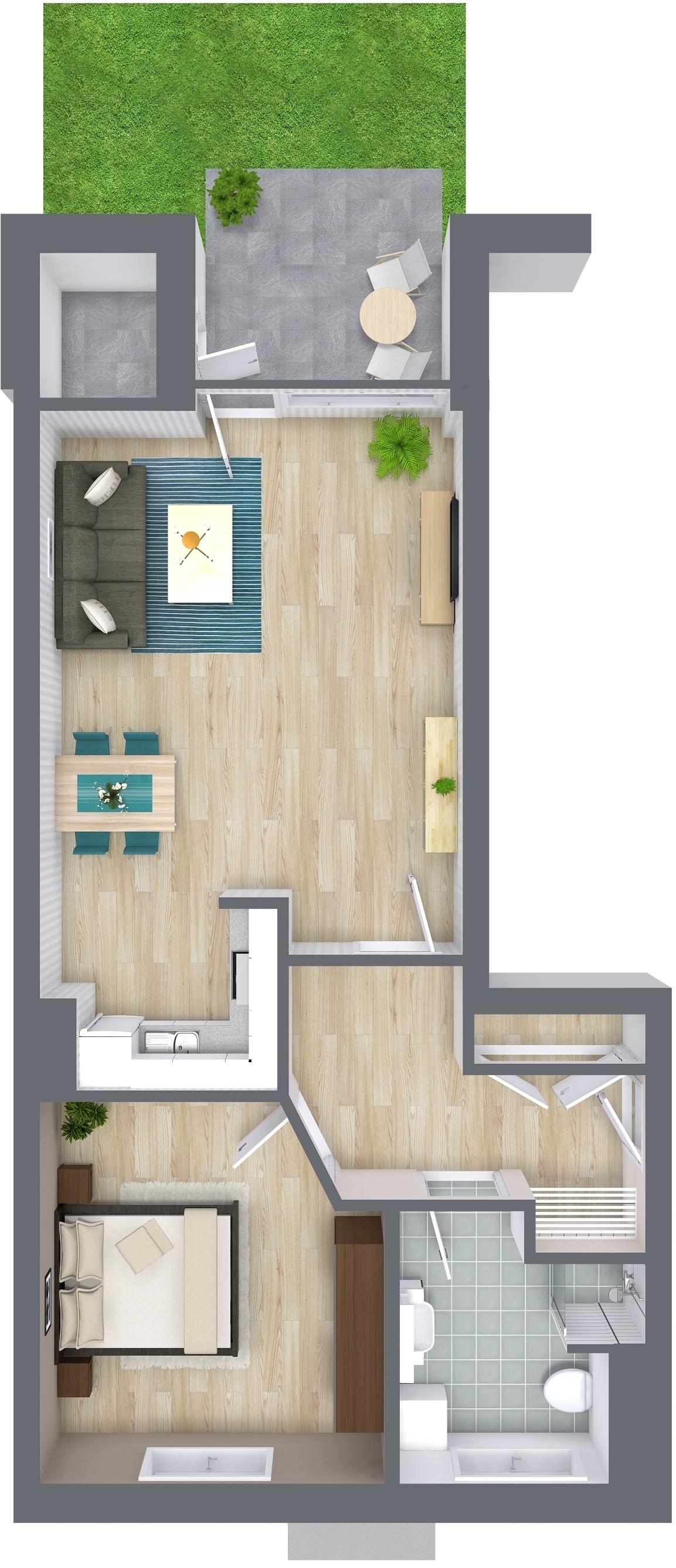 die 2 zimmer alternative b3 oliver klenz der immobilienprofi. Black Bedroom Furniture Sets. Home Design Ideas