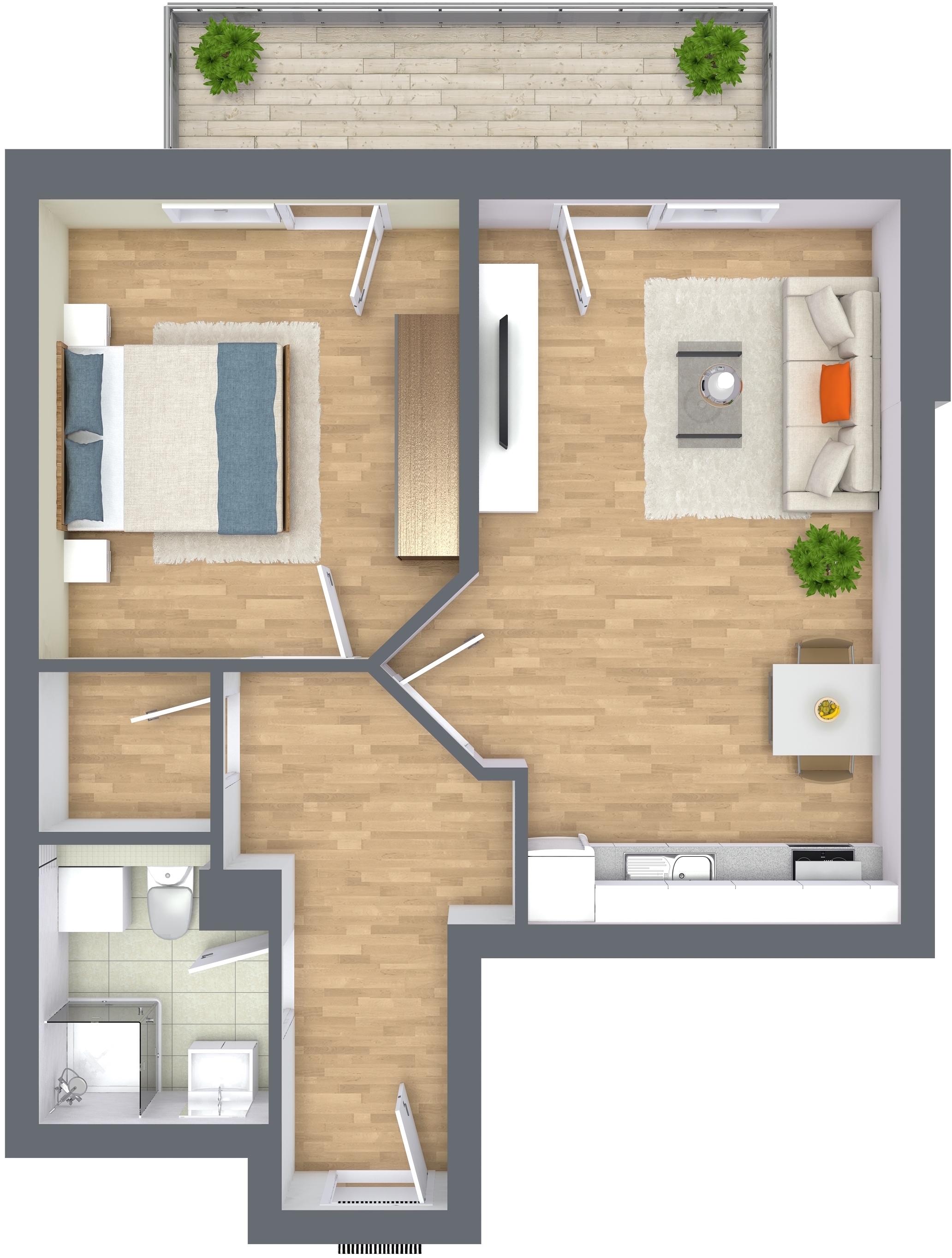 das raumwunder im obergeschoss d5 oliver klenz der immobilienprofi. Black Bedroom Furniture Sets. Home Design Ideas