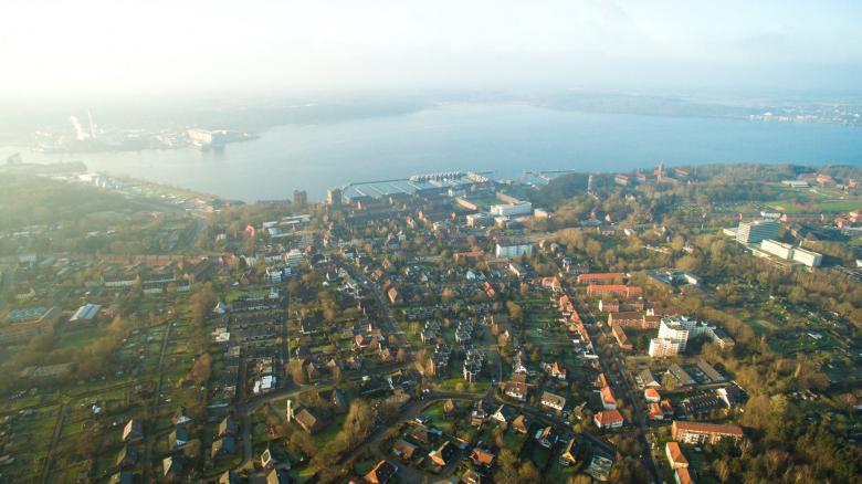Stadtteil Mürwik höhe Ostbektal
